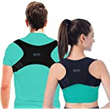 Posture Corrector for Men and Women, USA Designed - Adjustable Upper Back Brace for Clavicle Support and Providing Pain Relie