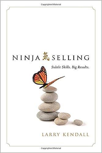 Subtle Skills Ninja Selling Big Results.