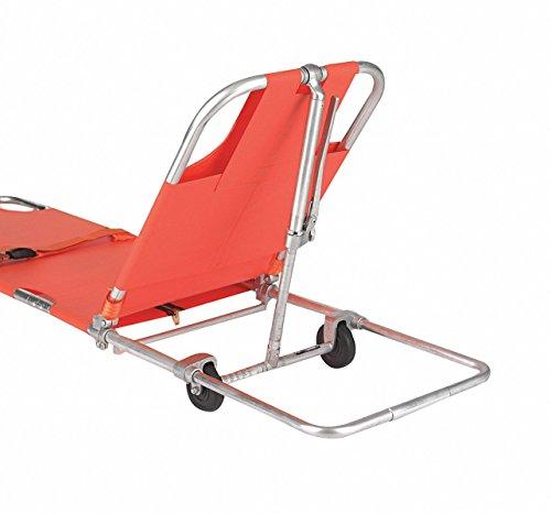 Wheeled Stretcher,350 lb.,74 In.,Orange (Wheeled Stretcher)