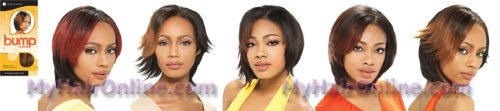 Bump Collection Hh Bump Sassy Wvg By S1b/27 Off Black/honey (Sassy Wigs)