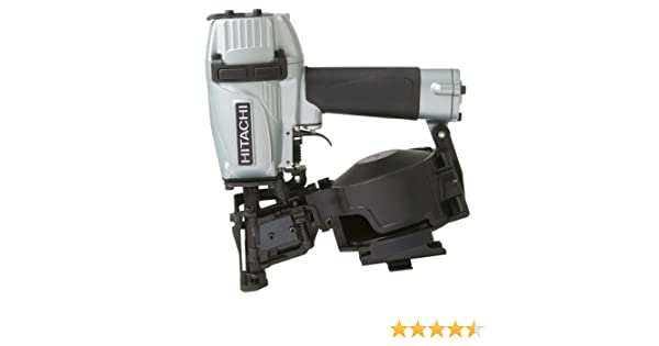 hitachi roofing nailer. hitachi nv45ae coil roofing nailer with side load magazine: amazon.ca: tools \u0026 home improvement n