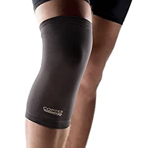 """Copper Fit MEDIUM SIZE Copper Infused Knee Sleeve Uni-sex Compression Sleeve 15.5"""" - 16.5"""""""
