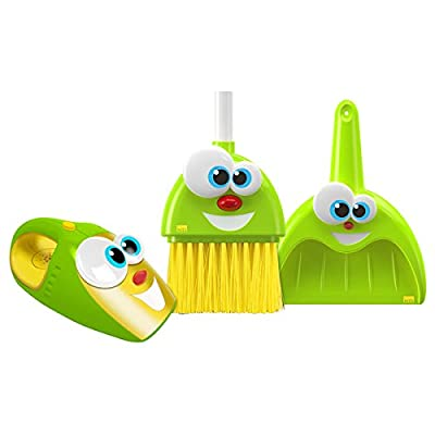 The Talking Broom, Dustpan And Vacuum Silly Sam, Pan And Larry Combo: Beauty