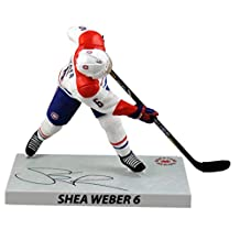 "NHL Shea Weber (Montreal Canadiens) Signature Series Premium Sports Artifacts (PSA), 6"" Hockey Figure"