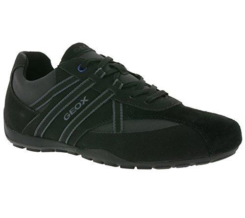 Geox Ravex U743FB Herren Sneakers Black/Charcoal