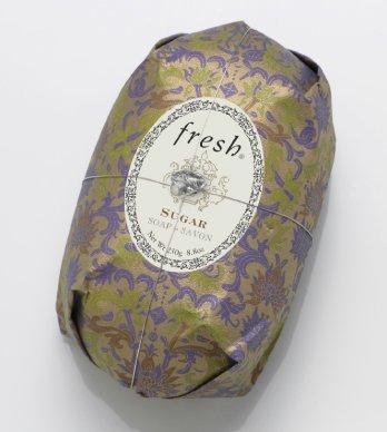 十年バーマド予定Fresh SUGAR SOAP (フレッシュ シュガー ソープ) 8.8 oz (250g) Soap (石鹸) by Fresh