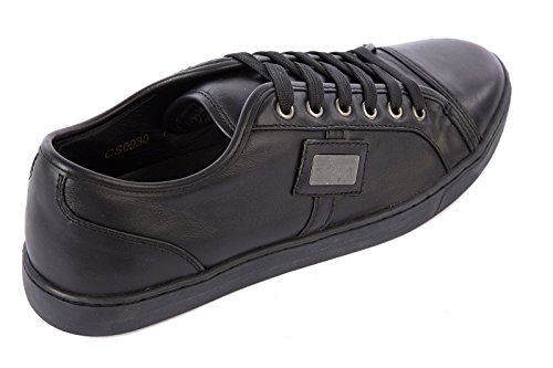 Dolce & Gabbana Scarpe Da Uomo Scarpe Da Uomo In Pelle Sneakers Nere