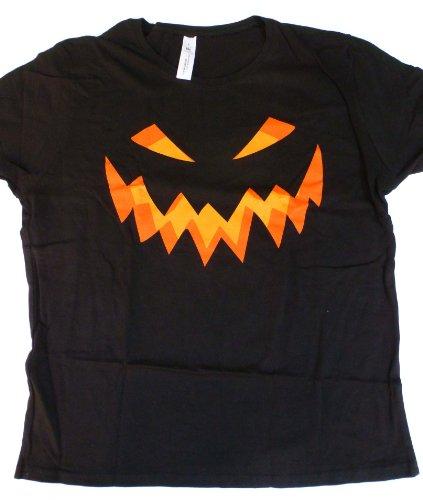 Loud clothing-Evil smile T-Shirt (BKL, XL, Female)