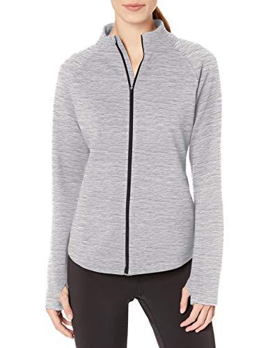 Amazon Essentials Women's Fleece Lined Full-Zip Mockneck Jacket