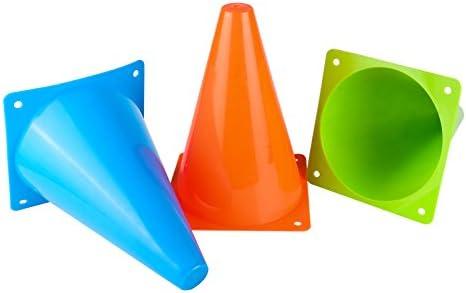 Conos de entrenamiento de plástico, cono de tráfico deportivo para ...