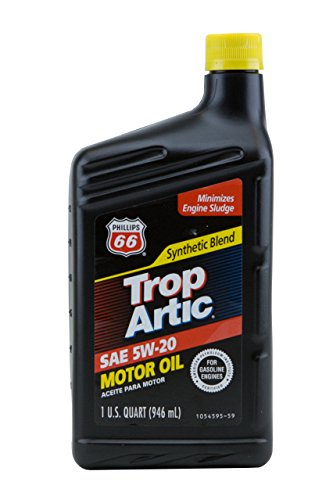 (Phillips 66 Shield Choice Synthetic Blend 5W20 Motor Oil, 1 Quart)