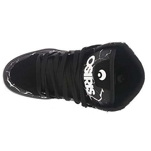 Skate De Chaussure Clone Osiris Hi Top Noir Homme BRq6B7wnx