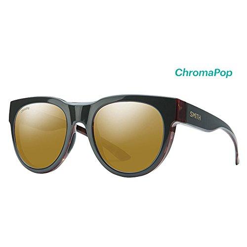 Polarized Bronze Mirror - Smith Crusader Chromapop Polarized Sunglasses, Gravity Tort, Chromapop Polarized Bronze Mirror