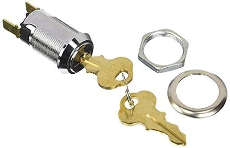 Jameco Valuepro IG-406D-2341 Key Lock Switch Single Pole Single ...