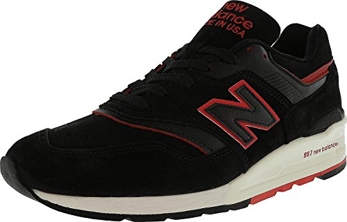 Balance New Trainers In Crystal The rouge 997 Grey Usa Made Noir ddnO6r8q