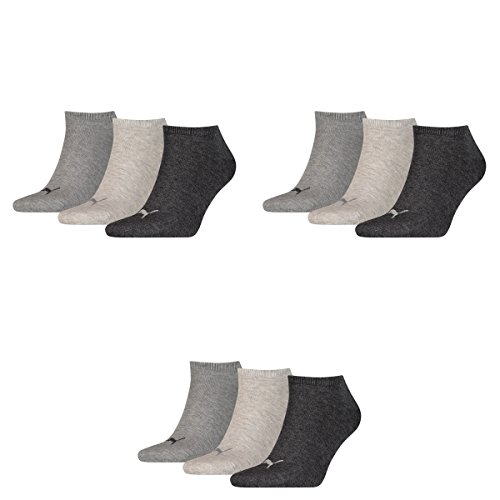m Men's Socks 3 Sport Puma Mel Anthraci lotto Gray l 800 dqvAP