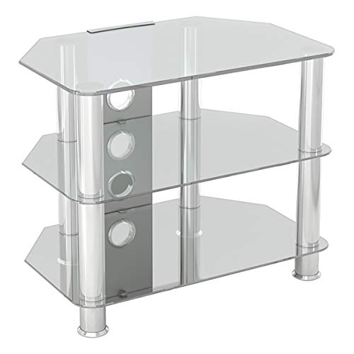 AVF SDC600CMCC-A Classic - Corner Glass TV Stand (up to 32