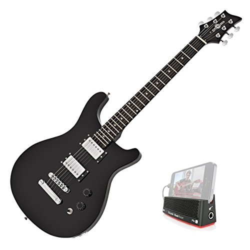 Pasadena Electric Guitar by Gear4music Black Inc iTrack Pocket: Amazon.es: Instrumentos musicales