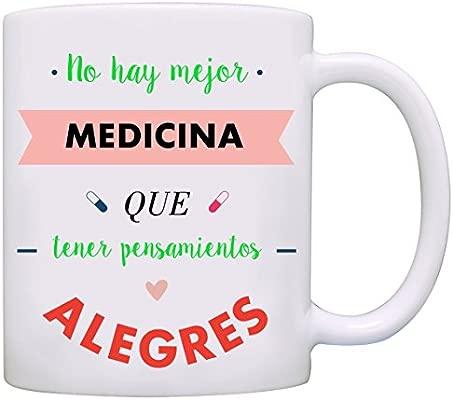 Mugffins Taza Original No Hay Mejor Medicina Que Tener