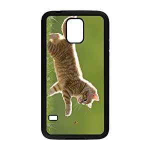 Lovely Cat Hight Quality Plastic Case for Samsung Galaxy S5