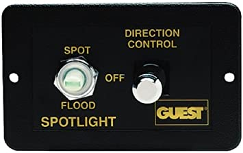 Guest 22208A Rectangle Control for Marine Spotlights (Models 22040, 22041,  22042, 22043, 22044, and 22045) : Boating Spotlights : Sports & Outdoors -  Amazon.com | Guest Spotlight Wiring Diagram |  | Amazon.com
