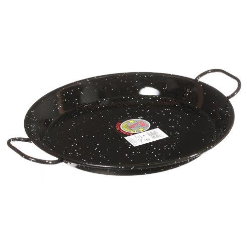 Garcima 12-Inch Enameled Steel Paella Pan, 30cm by Garcima