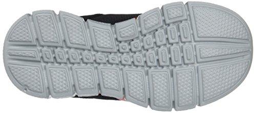 Skechers Equalizer 2.0-Post Season, Zapatillas Para Niños Negro (BKRD)