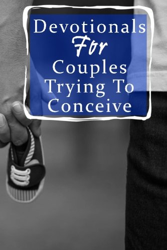 Devotionals For Couples Trying To Conceive: Blank Prayer Journal, 6 x 9, 108 Lined Pages
