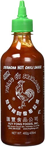 Huy Fong, Sriracha Hot Chili Sauce, 17 Ounce Bottle (Best Supermarket Bbq Sauce Uk)