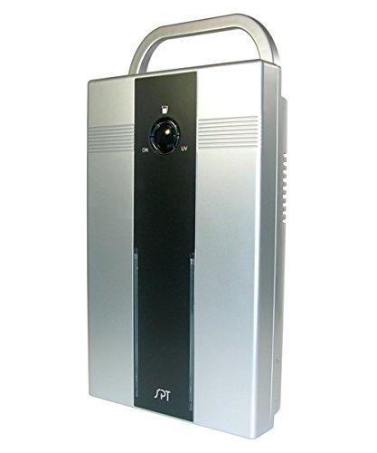 Sq Ft Mini Dehumidifier Light Silver
