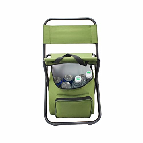 BeGrit Multi-Purpose Cooler Chair Folding Stool with Cooler Bag for Hiking Fishing Camping Picnic Backpacking by BeGrit (Image #5)