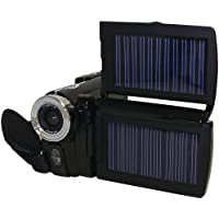 Cobra Digital HDVC6000 SOLAR 12 MP HD Digital Video Camera and  3.0-Inch LTPS Display HDVC6000