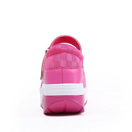 Red Xmeden Mesh Sneaker Rose Donna qISU1YS0