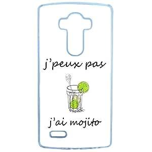 "Posterior-Funda original texto ""J 'libertad no tengo Mojito Lg Stylus G4"