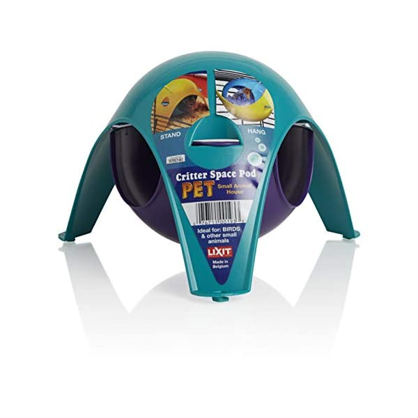 Lixit Critter Space Pod, Perfect for Small Animals 1