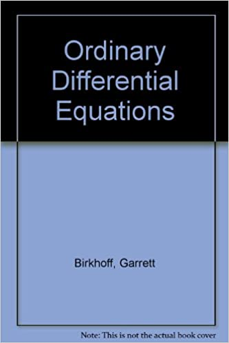 Ordinary Differential Equations Birkhoff Rota Ebook Download
