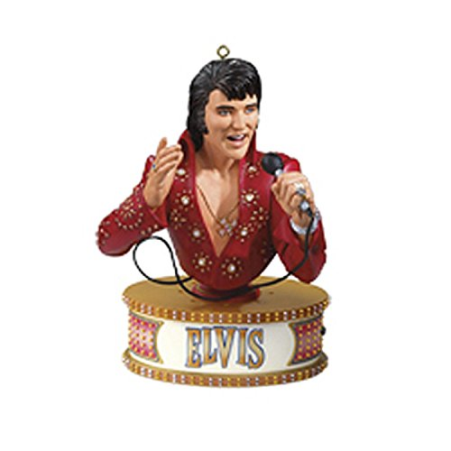 Elvis Presley Christmas Ornament