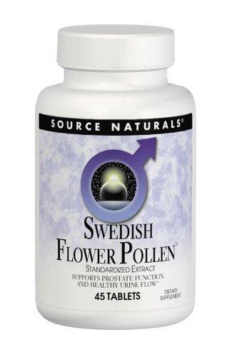 Source Naturals Swedish Flower Pollen Extract Supplement - 45 Tablets