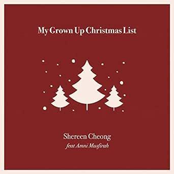 Karaoke my grown up christmas list kelly clarkson * youtube.