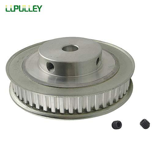 Ochoos XL Timing Pulley 48T Bore 8/10/12mm 11mm Belt Width Aluminum Alloy Gear Synchronous Belt Pulley Teeth Pitch 5.08mm - (Bore Diameter: 12mm, Width: ()