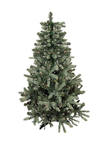 9' Pre-Lit Blue Spruce Full Artificial Christmas Tree - Clear Lights - Amazon.com: 9' Pre-Lit Blue Spruce Full Artificial Christmas Tree