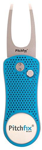 Pitchfix Divot Tool (Lt. Blue/Silver)