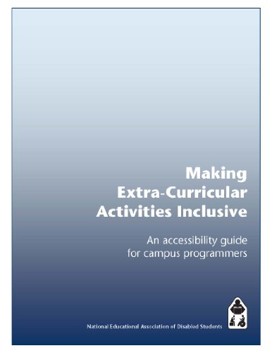 Making Extra-Curricular Activities Inclusive: An accessibility guide for campus programmers