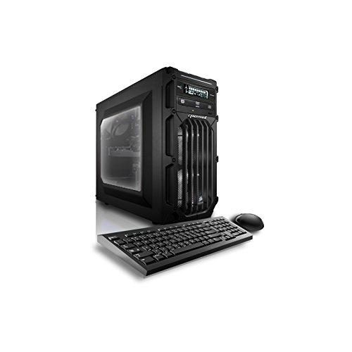 Cheap CybertronPC Flux X99 X6 Gaming Desktop – Liquid-Cooled Intel i7-5960X 3GHz Octa-Core Processor, 16GB DDR4 Memory, NVIDIA GTX960 (2GB GDDR5) Graphics, 1TB/8GB Solid State Hybrid, DVD±RW, Windows 10