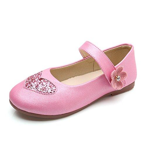 CYBLING Kids Girls Dress Ballet Flats Princess Mary Jane Shoes (Toddler/Little Kid)
