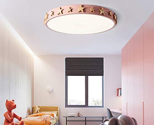 Stanza Da Letto Rosa : Camera da letto in legno tondo di luce 18w a colori stanza dei