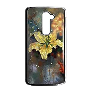 Artistic flowers in the rain Phone Case for LG G2