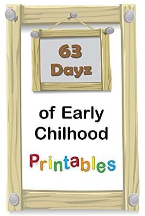 Amazon.com: 63 Dayz of Early Childhood Printables: PreK to K ...