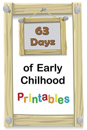 63 Dayz Of Early Childhood Printables PreK To K FREEBIES By Lafferty Fran