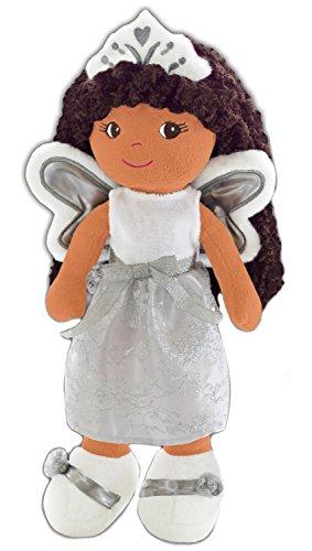 girlzndollz Elana Angel Doll Baby Doll, Light Brown Skin (Doll Black Angels)